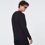 B1B Camo Crewneck Fleece - Blackout