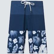 Floral Seamless 20 Boardshort - Blue/Flowers