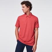 Aero Ellipse Polo 2.0 - Poppy Red
