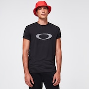 Netting Ellipse Tee - Blackout