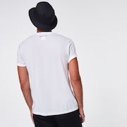 Netting Ellipse Tee - White