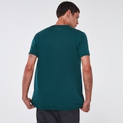 Netting Ellipse Tee - Tree Green