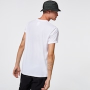 Camo Ellipse Tee - White