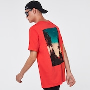 City Sunset Tee - Poppy Red
