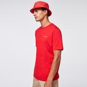 Heritage Eyeshade Tee - Poppy Red