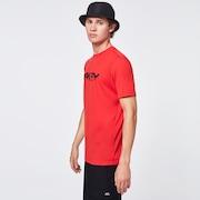 Burned B1B Logo Tee - Poppy Red