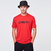 Burned B1B Logo Tee - Poppy Red