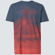 Sunset Fade Tee - Smoke Poppy Red