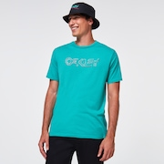 Sketched B1B Logo Tee - Ocean Green