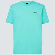 O Slash Logo Tee - Biscay Green