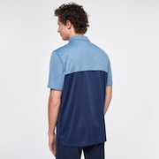 Blocked Gravity Polo - Universal Blue