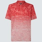 Camo Stripes Polo - Fog Gray