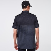 Camo Stripes Polo - Blackout