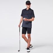 Camo Stripes Polo - Blackout