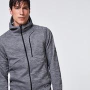 Enhance Grid Fleece Jacket 10.7 - Dark Gray Htr