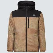 Enhance Insulation Jacket 10.7 - Brown Print