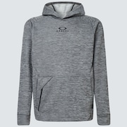 Enhance Grid Fleece Hoodie 10.7 - Dark Gray Hthr
