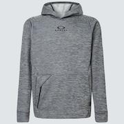 Enhance Grid Fleece Hoodie 10.7 - Dark Gray Hthr