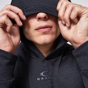 Enhance Grid Fleece Hoodie 10.7 - Blackout