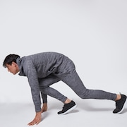 Enhance Grid Fleece Pant 10.7 - Dark Gray Htr