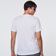 Enhance QD SS Tee O Bark 10.7 - White