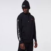TNP Wingman Fleece Hoodie - Blackout