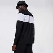 TNP Fiery Stripe LS Tee - Blackout