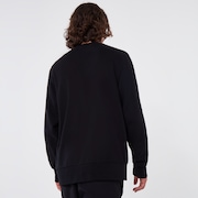 Oakley® Definition Crewneck Fleece - Blackout