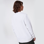 Oakley® Definition Crewneck Fleece - White