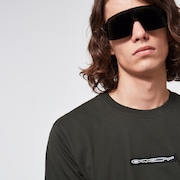 Oakley® Definition SS Patch Tee - Dark Olive Green