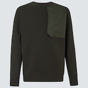 Oakley® Definition Tech Crew Fleece - Dark Olive Green