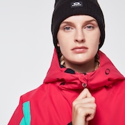 TNP Women's Insulated Anorak - Black/Rubine