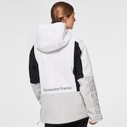 TNP Women's Insulated Anorak - White/Gray