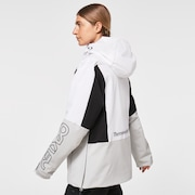 TNP Women's Insulated Anorak - White/Gray