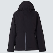 Camellia Shell Jacket - Blackout