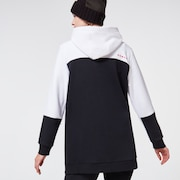 Snowdrop DWR Fleece - Black/White