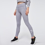 Ellipse Logo Leggings - New Granite Hthr