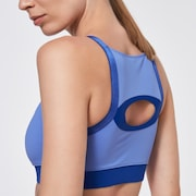 Just Enough Sports Bra - Dusty Blue