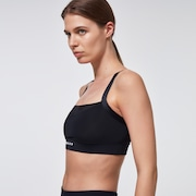 Just Enough Sports Bra - Blackout