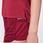 Basics Short Sleeve - Burgundy