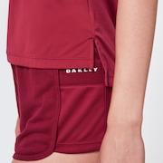 Basics Short Sleeve - Burgundy
