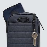 Enduro Small Shoulder Bag - Black Iris Hthr