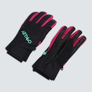 TNP Snow Glove - Black/Mint