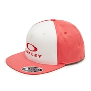 Silver 110 Flexfit Hat - Poppy Red