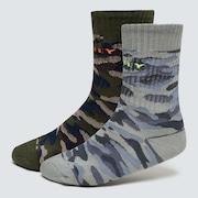 Camo Socks (2PCS)