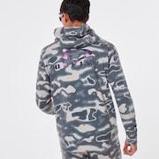 Enhance QD Fleece Jacket 10.7 - Green Print