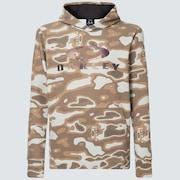 Enhance QD Fleece Hoodie 10.7 - Brown Print