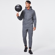 Enhance Grid Fleece Hoodie 10.7 - New Granite Hthr