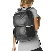 Performance Coated Training Backpack - Jet Black
