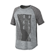 Next Graphic Training Tee - Heather Light Gray With Forge